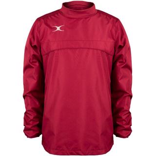 Gilbert Photon Warm Up Top, MAROON,%