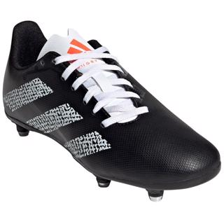 adidas RUGBY JUNIOR SG Boots BLACK/WHITE