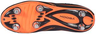 Kooga Warrior 2 Rugby Boots JUNIOR BLA