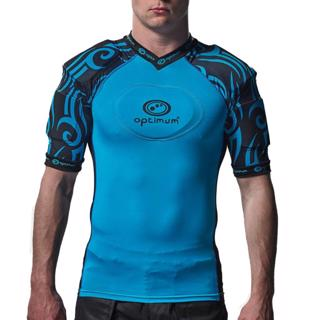 Optimum Razor Rugby Body Armour CYAN/BLA