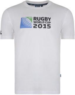 Canterbury RWC 2015 Logo Tee, WHITE