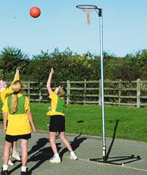 NBIA-R  Regulation NETBALL POST - SING