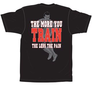 No Pushover Rugby Train T-Shirt