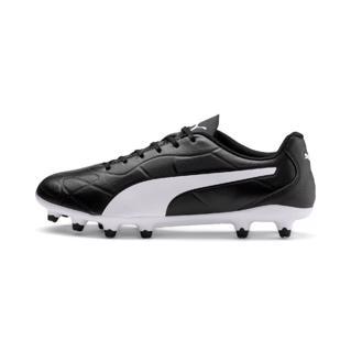 Puma MONARCH FG Football Boots BLACK/WHI