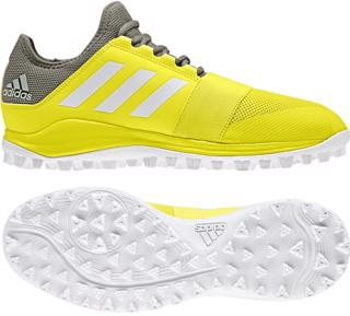 adidas Divox Hockey Shoes YELLOW