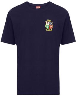Lions Rugby Tour Map Tee NAVY