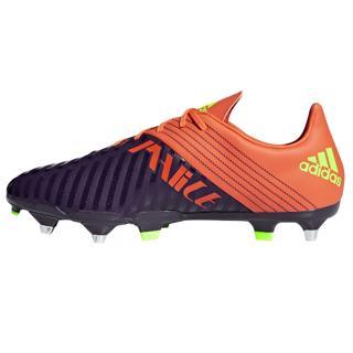 adidas MALICE SG Rugby Boots PURPLE/ORAN