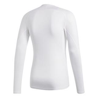 adidas Alphaskin Sport LS Tee WHITE