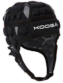 Kooga Combat Rugby Headguard BLACK