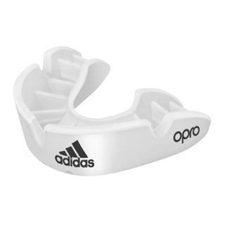adidas OPRO Bronze Mouthguard WHITE