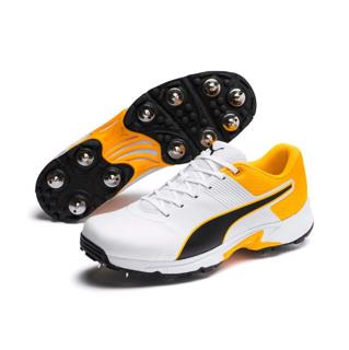 Puma 19.2 Cricket Spike Shoe WHITE/ORANG