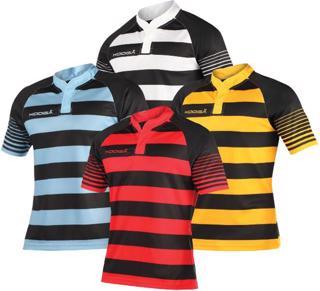 Kooga Touchline Hooped Match Rugby Shirt