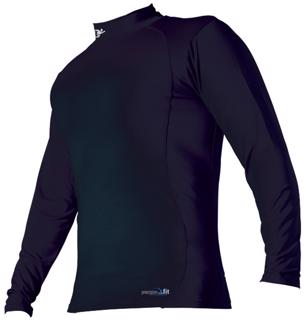 Precision Fit Mock Long Sleeve Base La