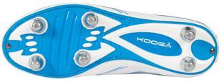 Kooga Warrior 2 Rugby Boots JUNIOR WHI