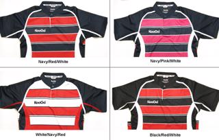 Kooga Teamwear Striped Match Shirt