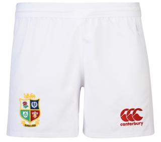 Canterbury Lions Home Rugby Shorts WHITE