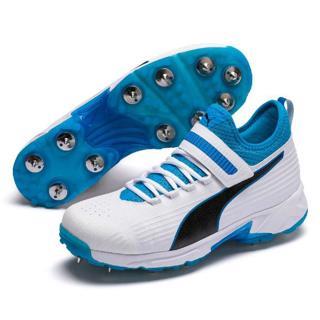 Puma 19.1 Cricket Bowling Shoe WHITE/AZU