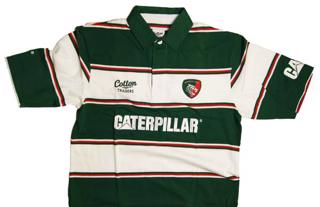 Cotton Traders Leicester Home Rugby Jers