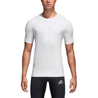 adidas Alphaskin Sport SS Tee WHITE
