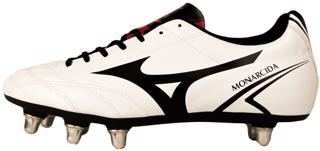 Mizuno Monarcida Rugby SI Boots WHITE/RE