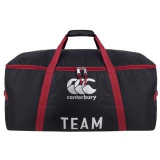Canterbury Rugby Team Kit Bag BLACK/RED%