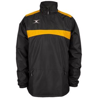 Gilbert Photon 1/4 Zip Jacket BLACK/GOLD