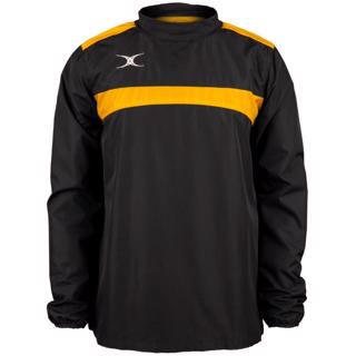 Gilbert Photon Warm Up Top BLACK/GOLD,