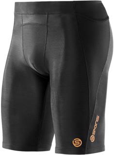Skins A400 Compression Half Tights BLACK
