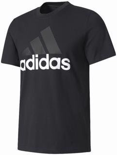 adidas Essentials Linear Tee BLACK