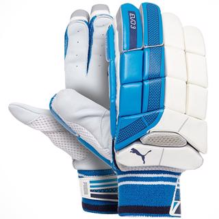 Puma EVO 3 AZURE Batting Gloves JUNIOR