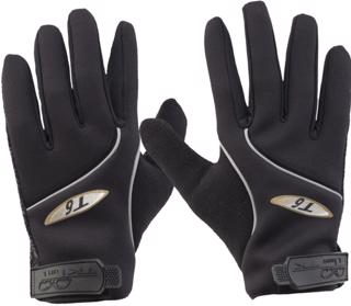 TK T6 Hockey Gloves, BLACK