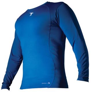 Precision Fit Crew L/S Base Layer, R
