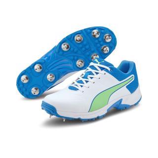 Puma 19.2 Cricket Spike Shoe WHITE/BLUE