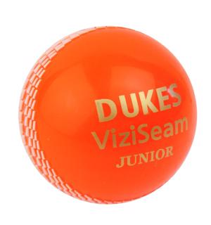 Dukes ViziSeam Ball ORANGE JUNIOR